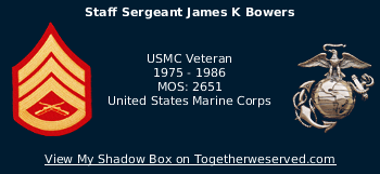 Signature Image of Bowers, James K, SSgt