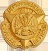 Army Civilian Retired Lapel Pin