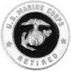 USMC Retired Pin (30 Years)