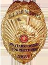 USMC Corrections Badge