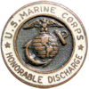 US Marine Corps Honorable Discharge (Original)