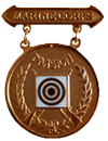 Division Rifle Competition Badge (Bronze)