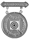 Division Rifle Competition Badge (Silver)