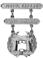 Pistol Expert 2nd Award