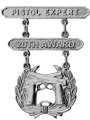 Pistol Expert 20th Award