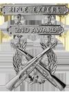 Rifle Expert 2nd Award