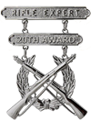 Rifle Expert 20th Award