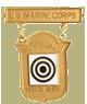 Distinguished Pistol Shot Badge (Gold)